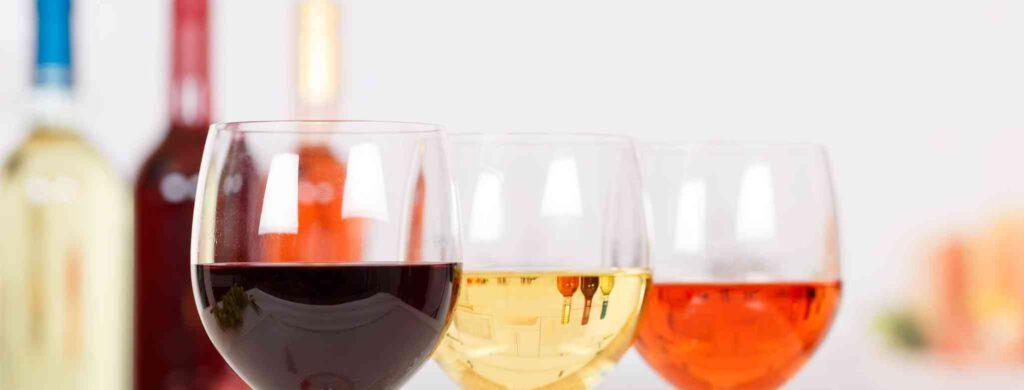 סוגים שונים של יין