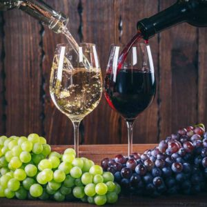 יין אדום או יין לבן