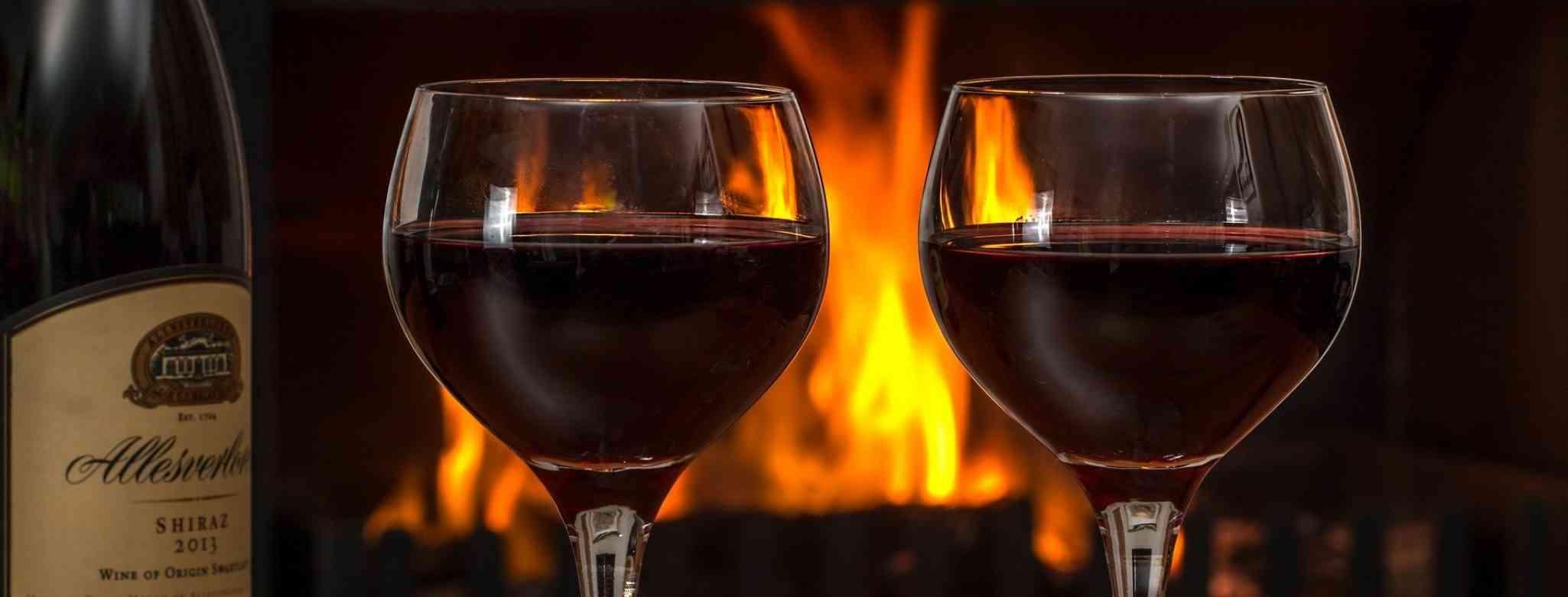 יין אדום מומלץ ללב